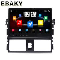 10.1inch Quad Core Android 4.4 Car Stereo Radio For Toyota Vios(2014-2016) Car PC Audio Mirror Link With GPS Navigation
