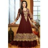 karishma-kapoor-dark-browncolor-anarkali-salwar-suit