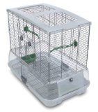 Vision Bird Cage Model M01 - Medium - http://www.animalimage.net/vision-bird-cage-model-m01-medium/ - Vision Bird Cage Model M01 – Medium   Small wire Single height Green perches—Green food and water dishes Base Measurements: 24″ x 15″ x 20 1/2″  The Vision Medium Bird Cage #M01 is a suitable cage for budgies, canaries, lovebirds and finches. It provides your bird...