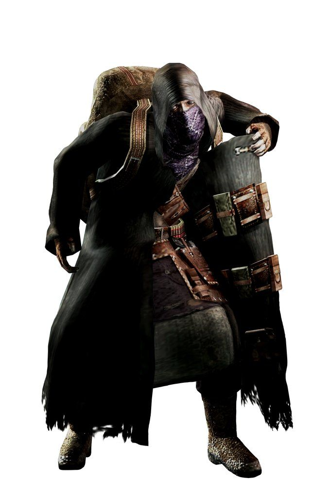 "re4 Merchant has to be one of the most badass merches EVER! ...untill he tells me ""i dont gotta nuff cash stranger"" *o~o then i cap his ass o:<"