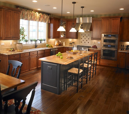 Yorktowne Cabinetry Amp Toll Brothers In Chicago Kitchen