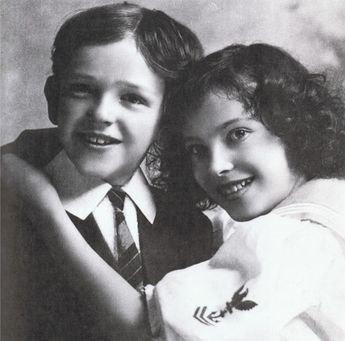 Young Fred and Adele Astaire