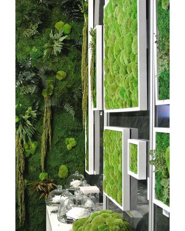 Beautiful Vertical Garden Ideas: 20+ Beautiful Vertical Gardening Ideas For Modern Bathroom