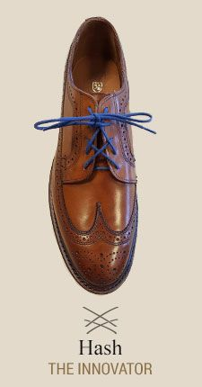 Hash  Learn How to Lace Your Dress Shoes with ALLEN EDMONDS  AD -   An illustrated how-to guide to our favorite lace upsTrendy, stylish, sophisticated or cool, there's more than one way to lace a shoe. Find a pattern that fits your personality