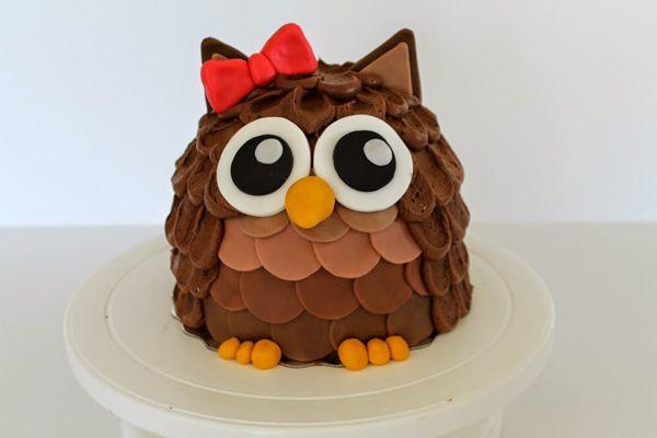 S týmto návodom na soviu tortu urobíte radosť komukoľvek. Postup na postavičku sovy je jednoduchý. Veď posúďte sami - torta v tvare sovy