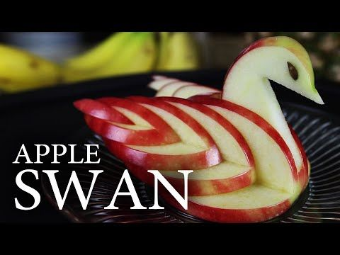 Make an Edible Apple Swan!: 8 Steps (with Pictures)