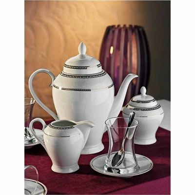 Kütahya Porselen Gözde 6 Kişilik 29 Parça 10134 Desen Çay Takımı