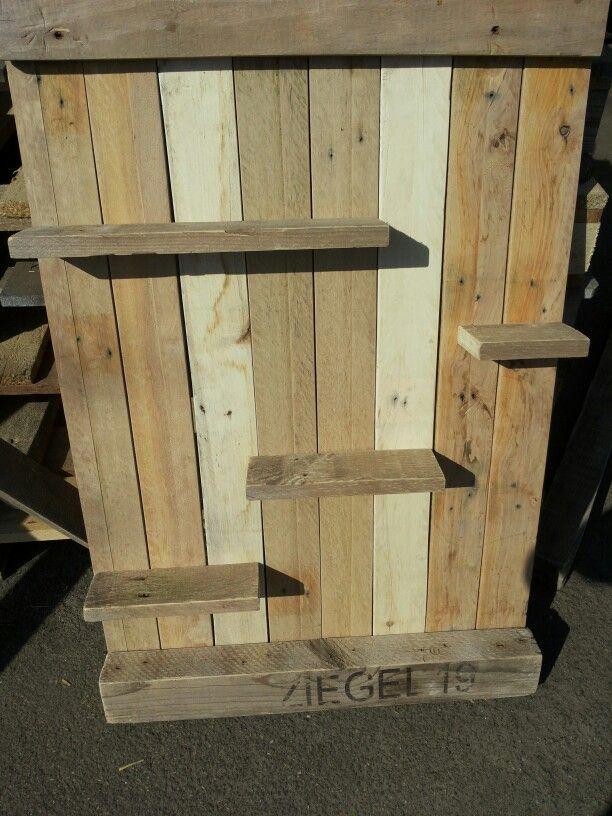 Pallet houten wanbord interieur pinterest pallets - Foto houten pallet ...