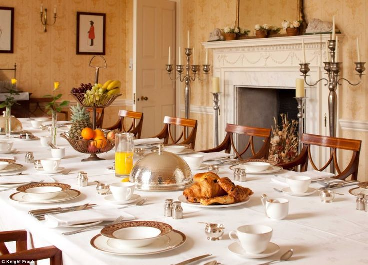 The Parkers use their 3.5-acre home, known as The Salutation, as a bed and breakfast, offe...