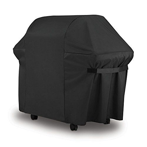 Weber BBQ Gas Grill Cover 7107: 4460 in Heavy Duty Waterproof & Weather Resistant Weber Genesis & Spirit Series Outdoor Barbeque Grill Covers by LiBa