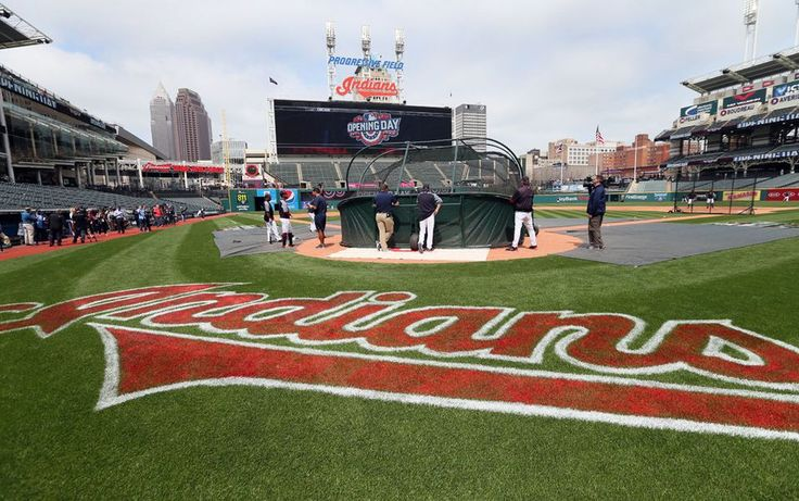 The Cleveland Indians home opener against the Chicago White Sox, Tuesday, April 11, 2017.  (Chuck Crow/The Plain Dealer)