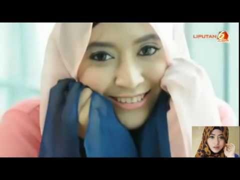 Tutorial Hijab-Pashmina Untuk Cuaca Panas Natasha Farani - Cara Berhijab Wanita Muslimah Trend Masa Kini