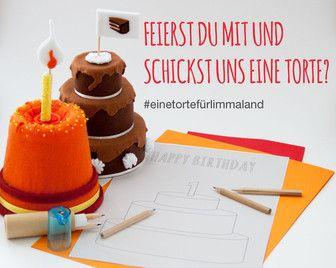 Limmaland is asking for a cake for next week for the first birthday party (19.08.2015). Just download the freebie and draw a cake and send it to hallo@limmaland.com // Limmaland freute sich über eine Geburtstagstorte zum 1.Geburtstag am 19.08.2015 // Mach jetzt mit: Malvorlage ausdrucken und los geht`s!