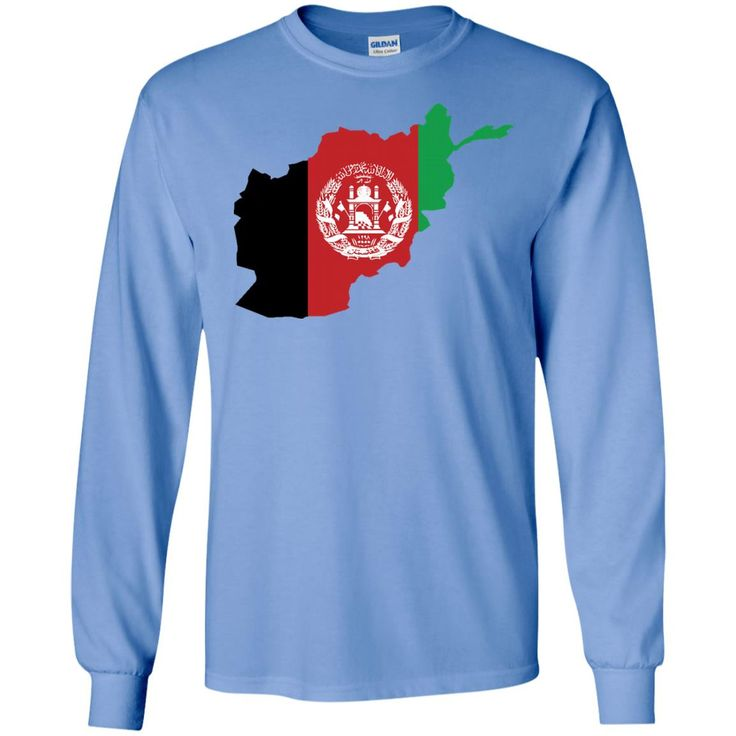 afghanistan flag-01 LS Ultra Cotton Tshirt