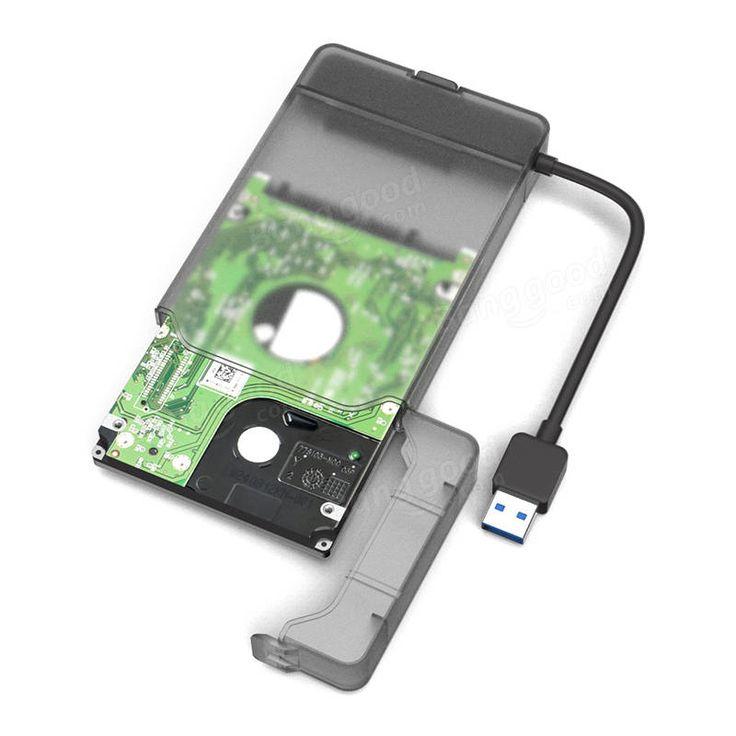 MAIWO K104 Tool-Free USB 3.0 SATA III Hard Disk Enclosures for 2.5inch HDD SSD Sale - Banggood.com