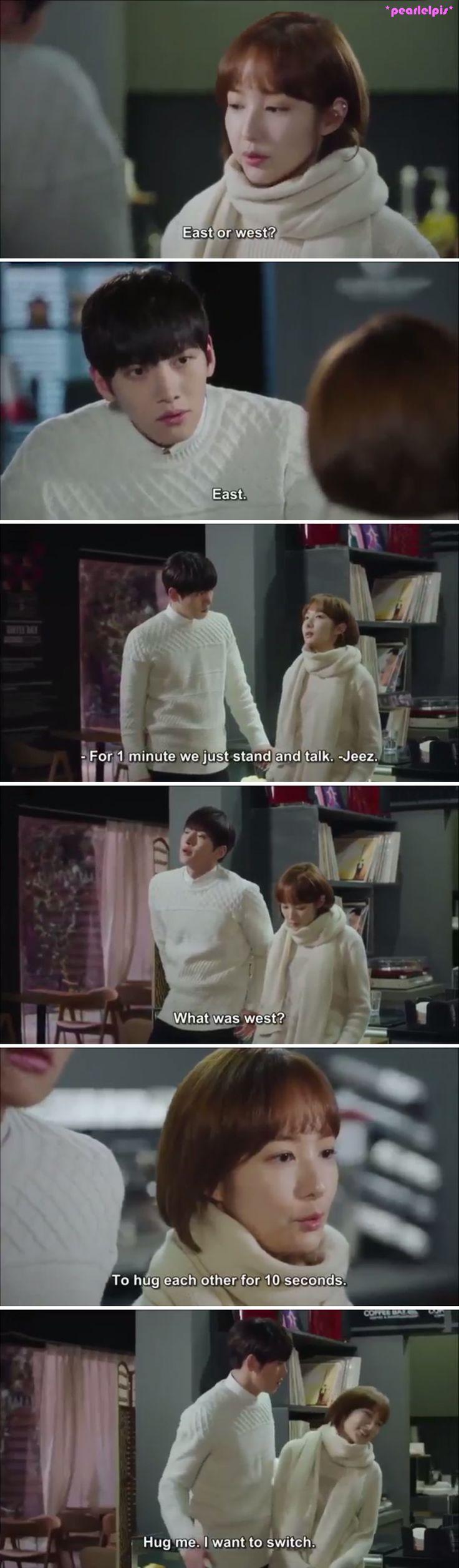 Healer quote: Ji Chang Wook as Seo Jung-Hoo; Park Min Young as Chae Young-Shin