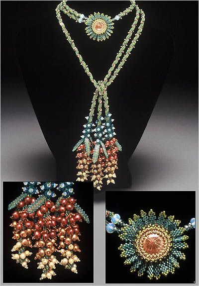 laura mccabe. ornaments made of beads. - crafts ideas - crafts for kids