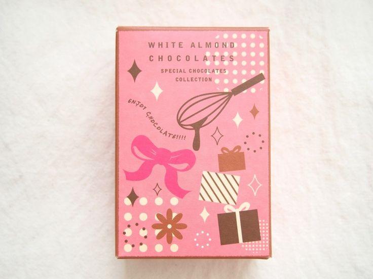 Marche du chocolat: WHITE ALMOND CHOCOLATES - KAWACOLLE #design #package
