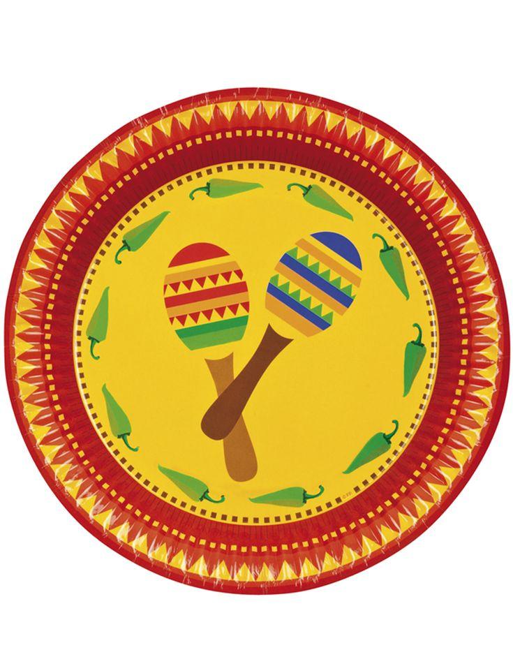 Piatti fantasia messicana su VegaooParty, negozio di articoli per feste. Scopri il maggior catalogo di addobbi e decorazioni per feste del web,  sempre al miglior prezzo!