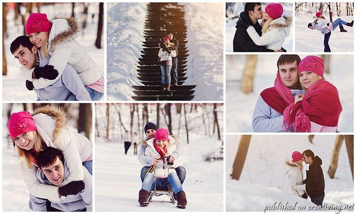 Идеи для фото зимой creativing.net