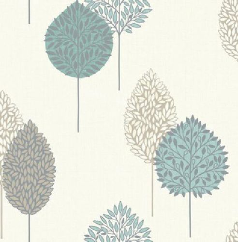 ARTHOUSE OPERA DANTE MOTIF teal wallpaper - £9.99 B&M My dining room feature wall paper