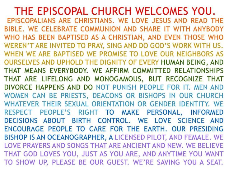 Episcopal Dating