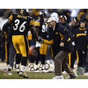 "Bill Cowher Pittsburgh Steelers Fanatics Authentic Autographed 8"" x 10"" with Photograph"