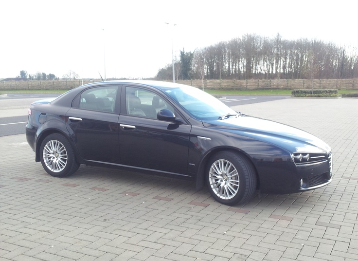 My previous and ninth car. A 2009 Alfa Romeo 159 Lusso, 1.9 JTDm.