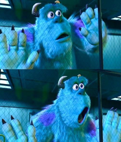 Monsters Inc.  how i look when edwards dad died in twighlight(opps spolier)