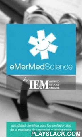 EMerMed Science  Android App - playslack.com ,  eMerMed Science es la primera app de actualización científica destinada a los profesionales de la medicina de urgencias y emergencias. Médicos, paramédicos, enfermeras, anestesistas, técnicos y personal de emergencias ahora pueden acceder a las revistas científicas más importantes.eMerMedScience te permite consultar, en tiempo real, los abstracts de las últimas publicaciones científicas orientadas al paciente crítico, emergencias médicas…