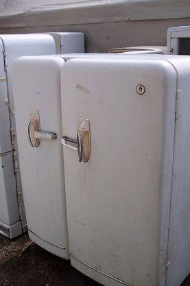Antique Vintage Unfinished Refrigerators