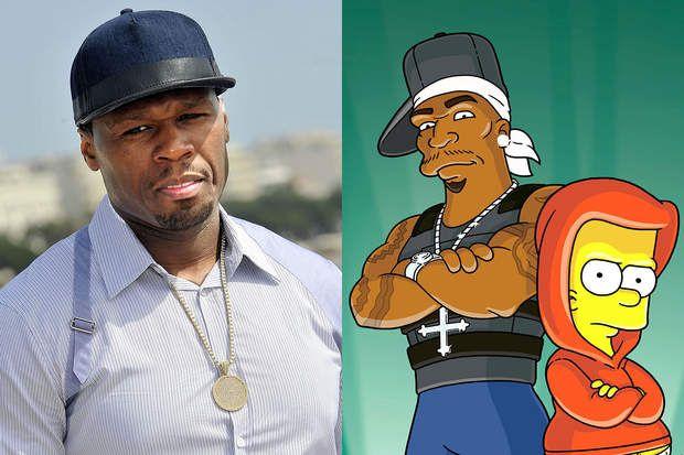 50 Cent, le rappeur est aussi apparu dans la célèbre série