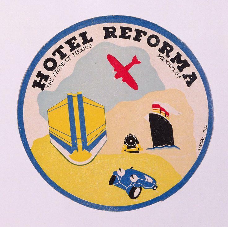 Print, Hotel Reforma, Mexico, 20th century