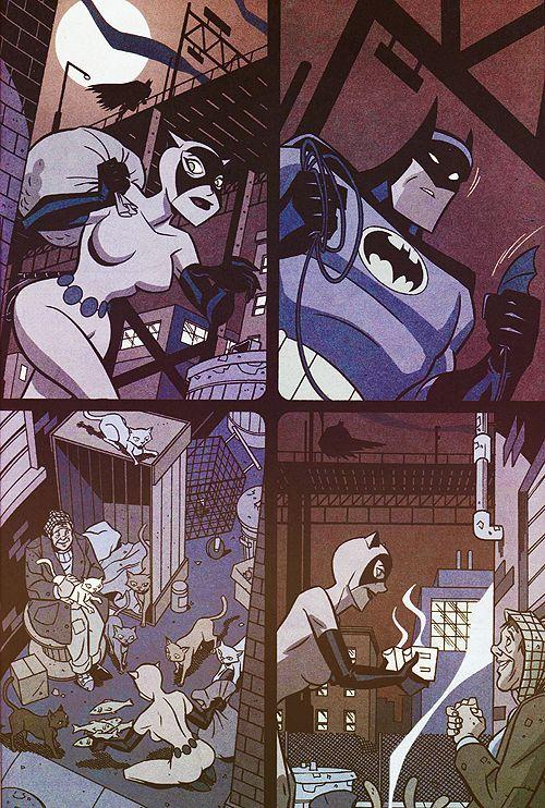 Batman Catwoman chase