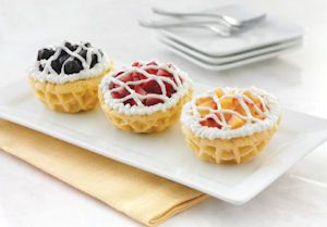 These miniature pies are filled with your favorite flavor of frozen yogurt and…