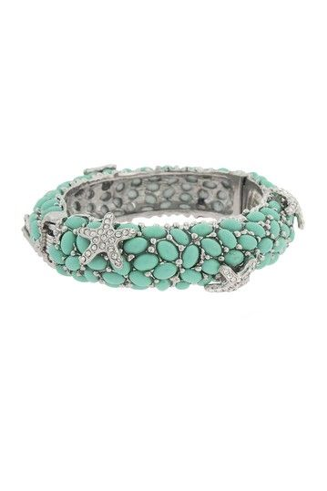 Starfish Cabochon Bracelet