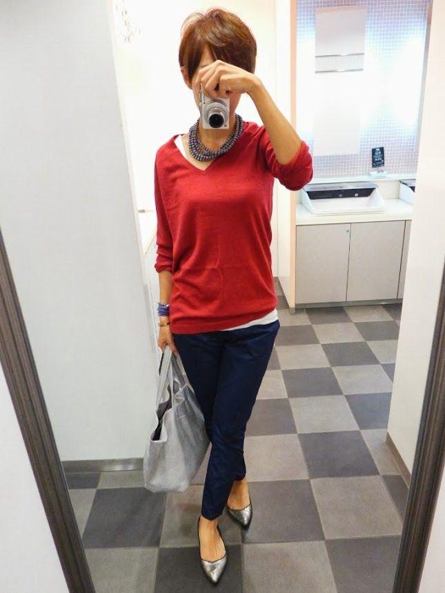 今日は商談のため少し大人目なカジュアルにしました。  Knit/UNIQLO Bottoms/UNIQLO +J Bag/JOURNAL STANDARD Shoes/ZARA  いつものごとく、ユニクロスタイル。  It is UNIQLO style today.
