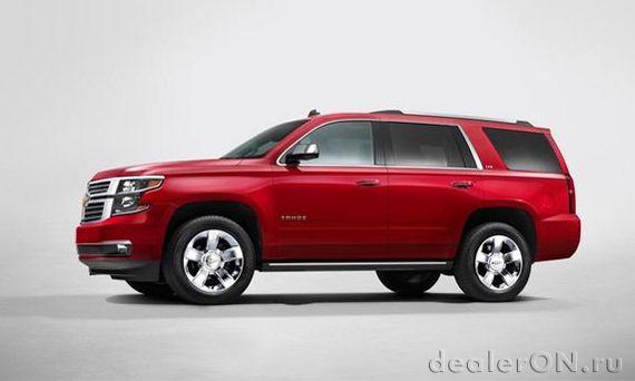 Представлены Chevrolet Suburban и Tahoe 2015, GMC Yukon 2015   Новости автомира на dealerON.ru