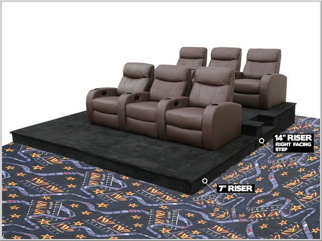 Best 25 theater seating ideas on pinterest home theatre - Home theater stadium seating design ...