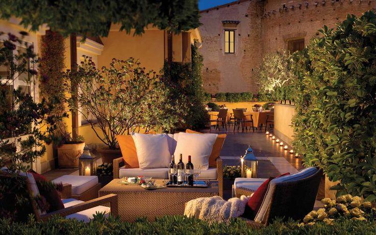 Hôtel Capo d'Africa - Hôtel avec terrasse et vue panoramique sur le centre ville de Rome.