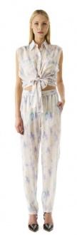 Talulah- She Dances Hand Painted Silk Floral Pant