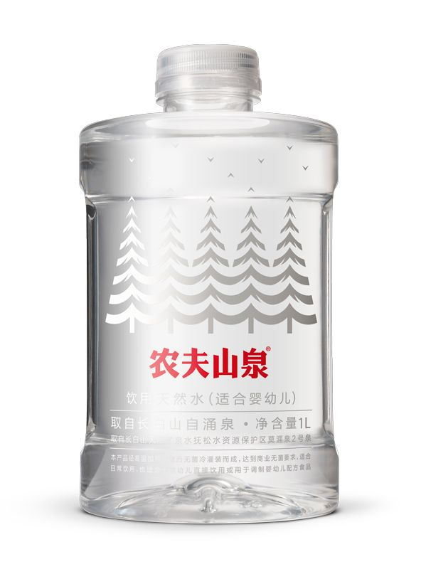 Nongfu Spring's Natural Water for Infants and Children