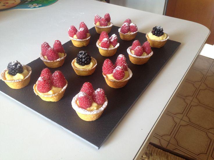 Fruit tartellets #baking
