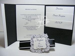Wedding Invitation (inside) - Stampin' Up!