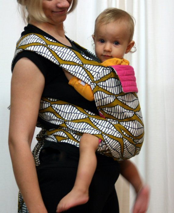 Double Sided Mei Tai W African Fabric African Style
