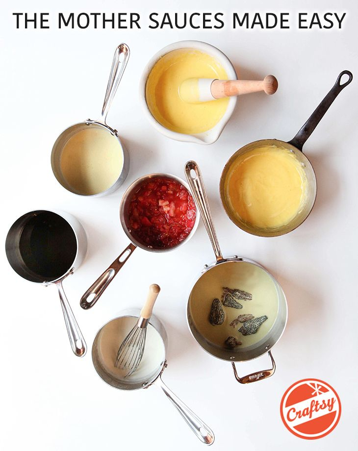 1000 images about cooking class on pinterest food tips for 5 mother sauces of french cuisine
