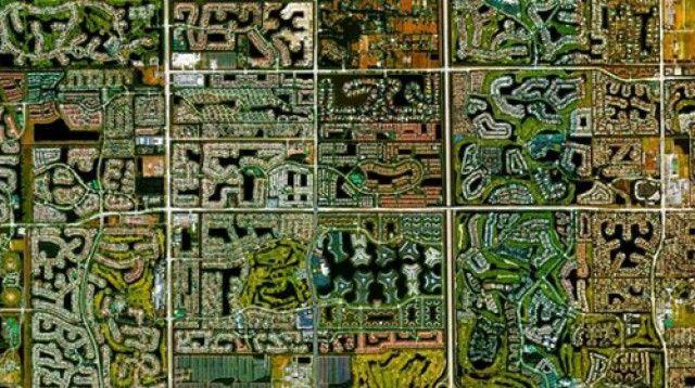 boca raton, florida - Tutto il mondo visto da un satellite: da new york a Venezia (fotogallery) — idealista/news