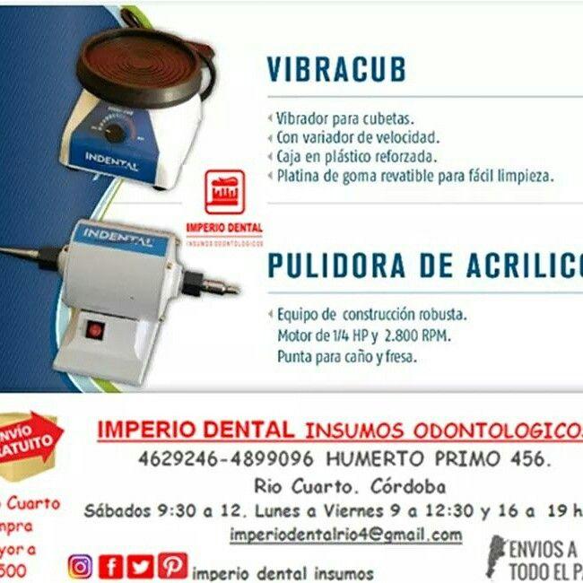 Vibradora y pulidora dental . Río cuarto . Cordoba