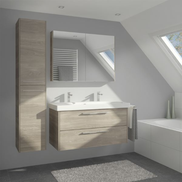 Leava Zoppola badkamermeubel met spiegelkast LEA70A020117 - Badkamerconcurrent.nl