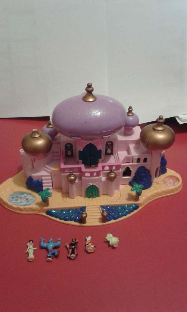 polly pocket vintage : Aladin _  Disney _ palais de Jasmine